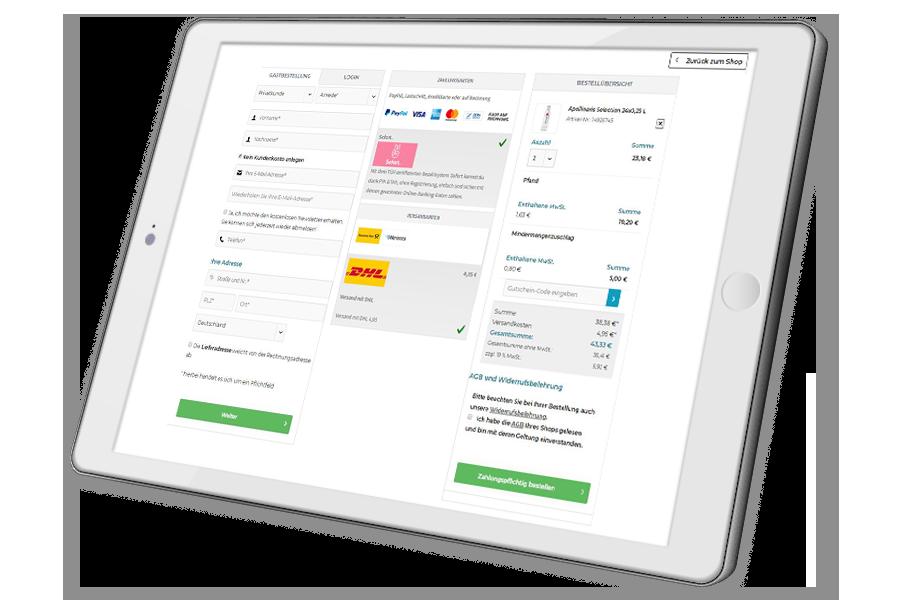 Lejaa-Onlineshop-home-tablet-checkout